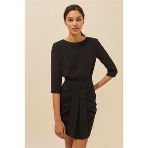 Ba&sh | noir black kaze mini dress